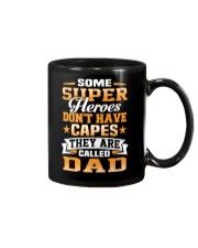 Dad Don't Need Capes Mug thumbnail