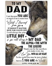 YOU ARE THE WORLD - GREAT GIFT FOR DAD FROM SON 11x17 Poster front