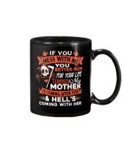 If You Mess With Me You Better Run Mug thumbnail