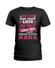 I Knew Someone Called Me Nana Ladies T-Shirt thumbnail