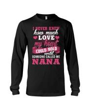 I Knew Someone Called Me Nana Long Sleeve Tee thumbnail