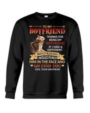THANKS FOR BEING MY BOYFRIEND Crewneck Sweatshirt thumbnail