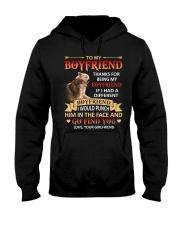THANKS FOR BEING MY BOYFRIEND Hooded Sweatshirt thumbnail