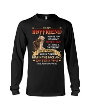 THANKS FOR BEING MY BOYFRIEND Long Sleeve Tee thumbnail