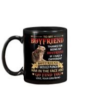 THANKS FOR BEING MY BOYFRIEND Mug back