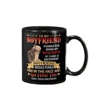THANKS FOR BEING MY BOYFRIEND Mug front