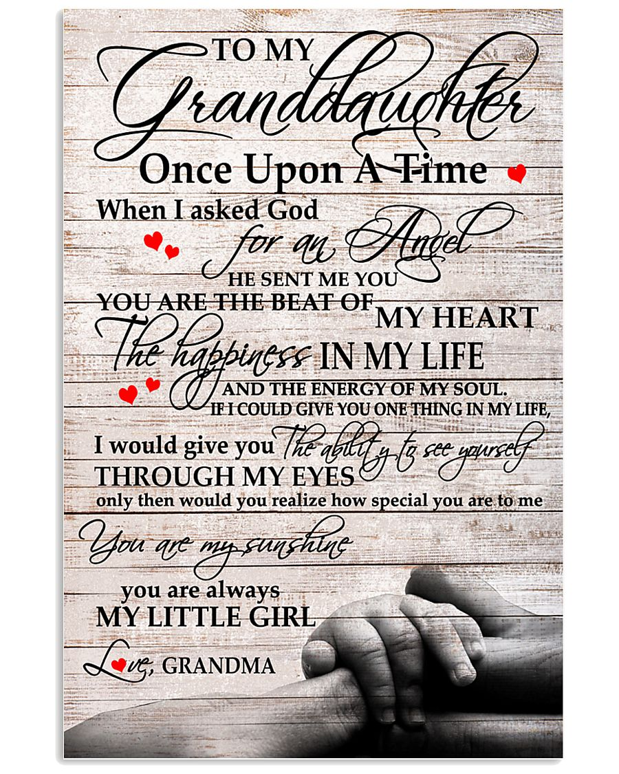 MY SUNSHINE - FERFECT GIFT FOR GRANDDAUGHTER 11x17 Poster