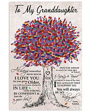 I LOVE YOU - BEST GIFT FOR GRANDDAUGHTER 11x17 Poster front
