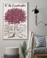 I LOVE YOU - BEST GIFT FOR GRANDDAUGHTER 11x17 Poster lifestyle-poster-1