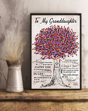 I LOVE YOU - BEST GIFT FOR GRANDDAUGHTER 11x17 Poster lifestyle-poster-3