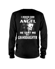 God Sent Me My Granddaughter Long Sleeve Tee thumbnail