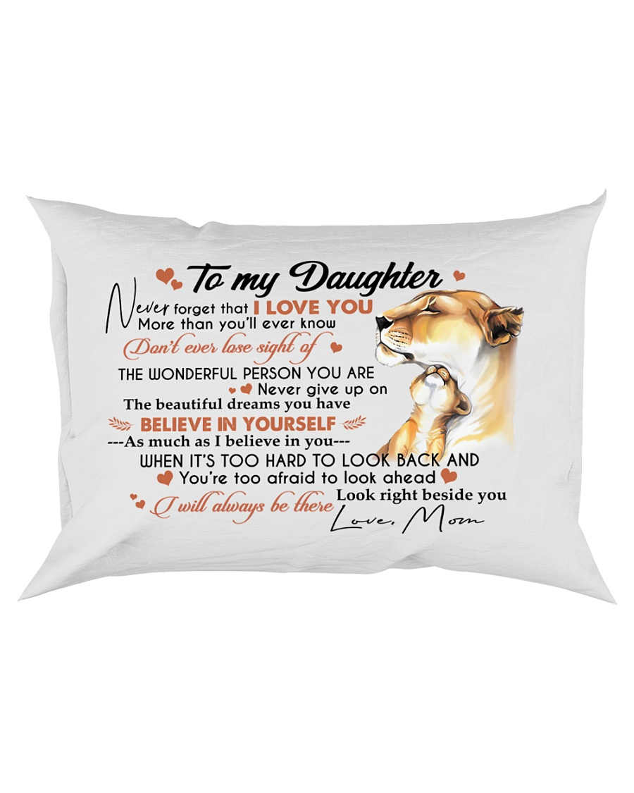 BELIEVE IN YOURSELF - BEAUTIFUL GIFT TO DAUGHTER Rectangular Pillowcase