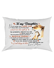 BELIEVE IN YOURSELF - BEAUTIFUL GIFT TO DAUGHTER Rectangular Pillowcase front
