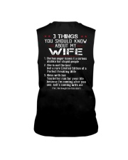 3 THINGS SHOULD KNOW ABOUT MY WIFE Sleeveless Tee thumbnail