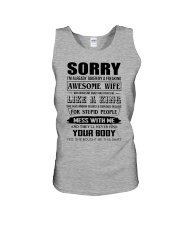 A FREAKING AWESOME WIFE Unisex Tank thumbnail