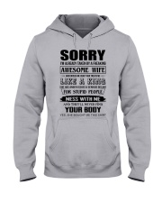 A FREAKING AWESOME WIFE Hooded Sweatshirt thumbnail