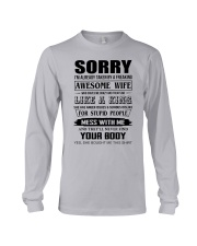 A FREAKING AWESOME WIFE Long Sleeve Tee thumbnail