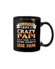 Warning Crazy Papi Mug thumbnail