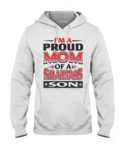Proud Mom Of A Smartass Son  Hooded Sweatshirt thumbnail