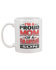 Proud Mom Of A Smartass Son  Mug back