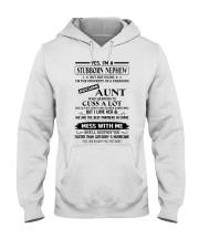 YES I'M A STUBBORN NEPHEW Hooded Sweatshirt thumbnail