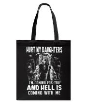Don't Hurt My Daughters Tote Bag thumbnail
