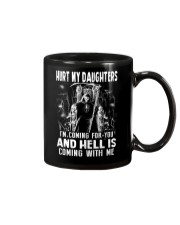 Don't Hurt My Daughters Mug thumbnail