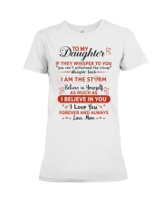 BELIEVE IN YOURSELF Premium Fit Ladies Tee thumbnail