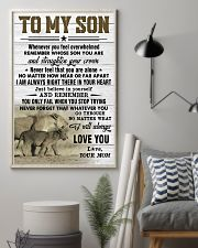 STRAIGHTEN YOUR CROWN - AMAZING GIFT FOR SON 11x17 Poster lifestyle-poster-1