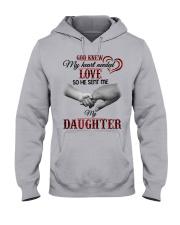 GOD KNEW MY HEART NEEDED LOVE Hooded Sweatshirt front