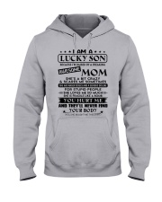 SHE LOVES ME SO MUCH  - BEST GIFT FOR SON FROM MOM Hooded Sweatshirt thumbnail