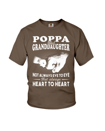 Poppa And Granddaughter Always Heart To Heart