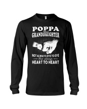 Poppa And Granddaughter Always Heart To Heart Long Sleeve Tee thumbnail