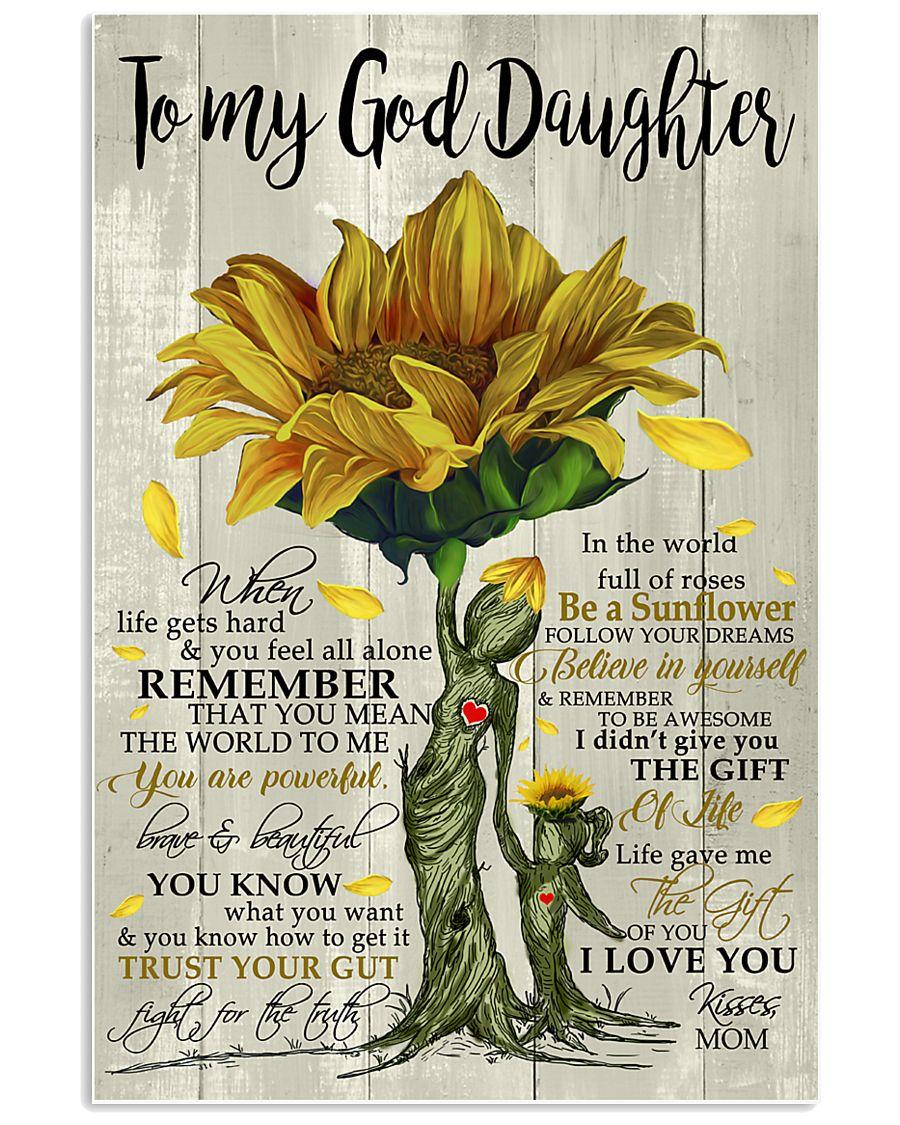 tqh-god-daughter-sunflower-mam-twtm 11x17 Poster