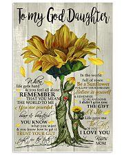 tqh-god-daughter-sunflower-mam-twtm 11x17 Poster front