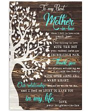 THANK YOU - PERFECT GIFT FOR MOTHER-IN-LAW 11x17 Poster front