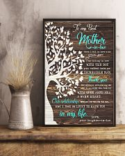 THANK YOU - PERFECT GIFT FOR MOTHER-IN-LAW 11x17 Poster lifestyle-poster-3