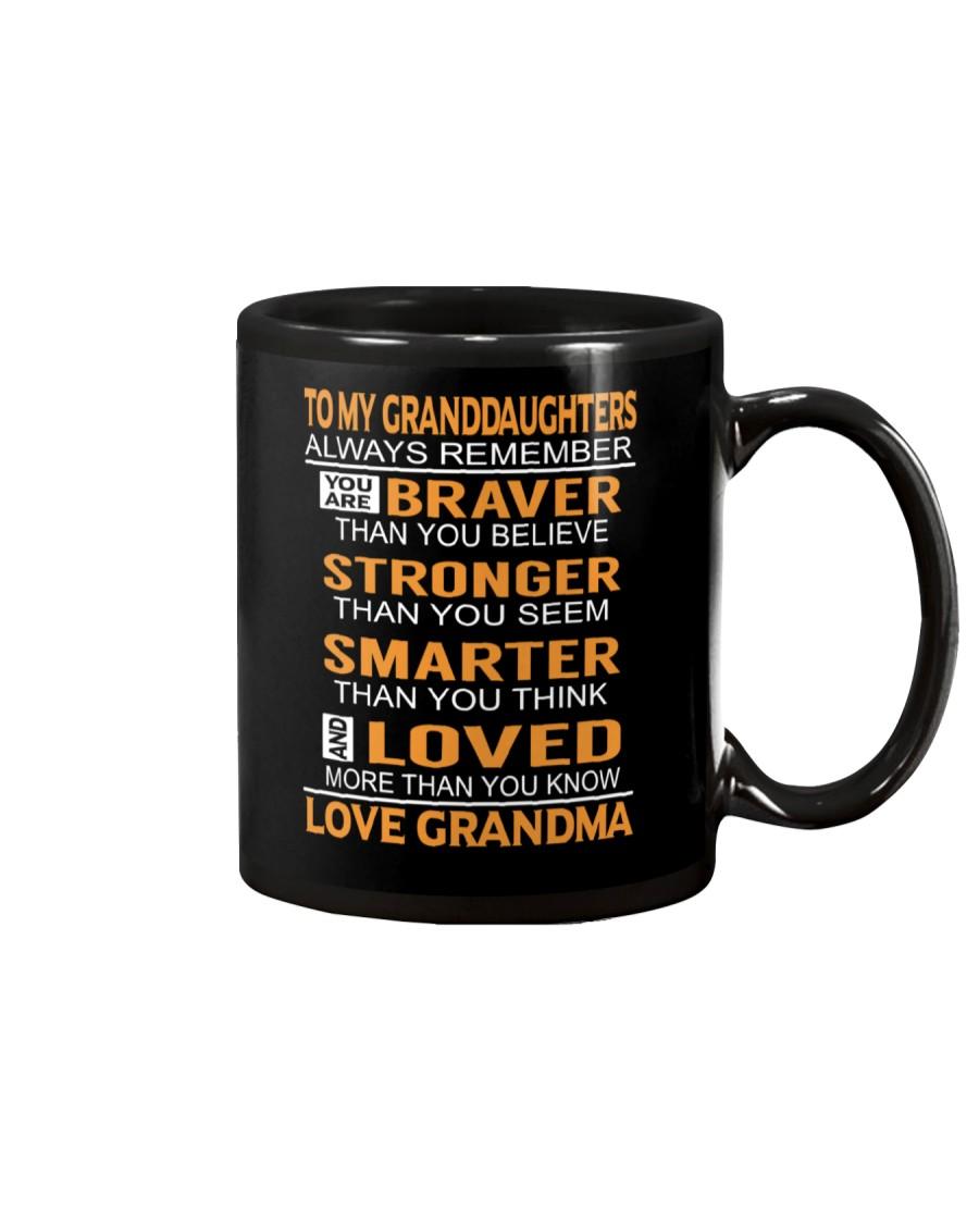To My Granddaughters Always Remember Mug