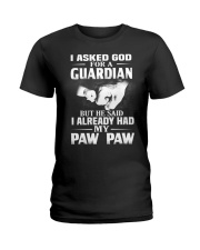 Guardian Is My Paw Paw  Ladies T-Shirt thumbnail