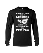 Guardian Is My Paw Paw  Long Sleeve Tee thumbnail