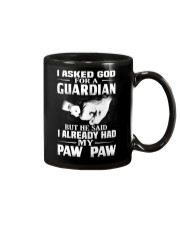 Guardian Is My Paw Paw  Mug thumbnail