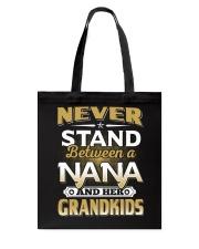 Between Nana And Grandkids Tote Bag thumbnail