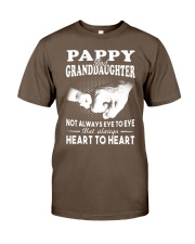 Pappy And Granddaughter Always Heart To Heart Classic T-Shirt thumbnail
