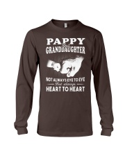 Pappy And Granddaughter Always Heart To Heart Long Sleeve Tee thumbnail
