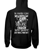 Don't Touch My Wife Hooded Sweatshirt thumbnail