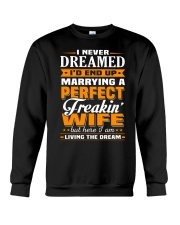 Perfect Freaking Wife Crewneck Sweatshirt thumbnail
