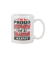 Proud Nephew Of A Smartass Aunt Mug front