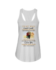 TURN BACK THE CLOCK - LOVELY GIFT FOR WIFE Ladies Flowy Tank thumbnail