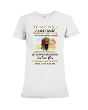 TURN BACK THE CLOCK - LOVELY GIFT FOR WIFE Premium Fit Ladies Tee thumbnail