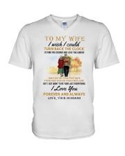 TURN BACK THE CLOCK - LOVELY GIFT FOR WIFE V-Neck T-Shirt thumbnail
